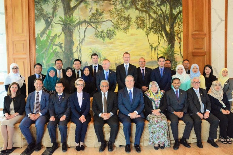 AUTORITI MONETARI BRUNEI DARUSSALAM (AMBD) HOSTS BRITISH TRADE DELEGATION
